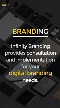 Infinity Branding poster