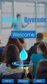 Interpret Riverside poster