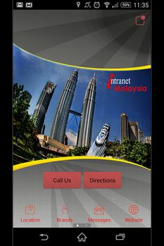 Intranet poster