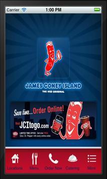 James Coney Island Original poster