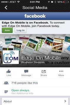 Jacob Leverett, Edge On Mobile apk screenshot