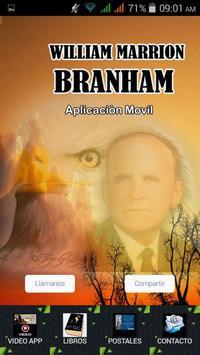 APP WILLIAM MARRION BRANHAM poster