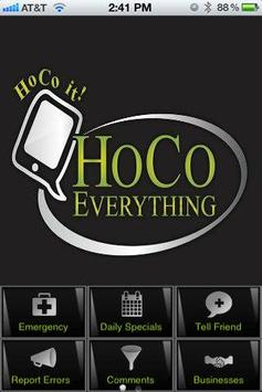 Hoco Everything poster