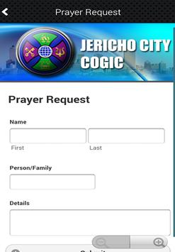 Jericho City COGIC apk screenshot