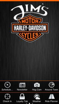 Jims Harley Davidson poster