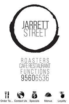 Jarrett Street Cafe poster