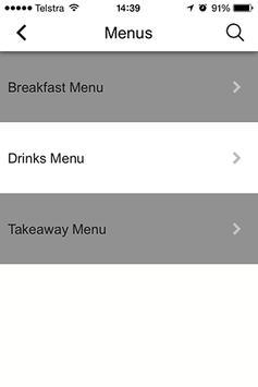 Jarrett Street Cafe apk screenshot