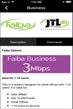 Faiba JTL apk screenshot