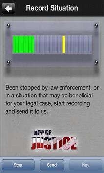 The App of Justice apk screenshot