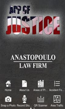 The App of Justice poster