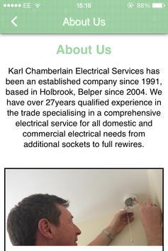 Karl Chamberlain Electrical apk screenshot