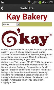 Kay Bakery apk screenshot