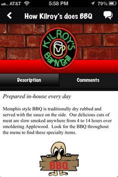 Kilroy's Bar N' Grill apk screenshot