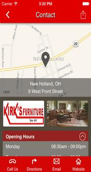 Kirk's Furniture apk screenshot