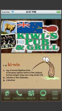 Kiwi's Pub and Grill poster