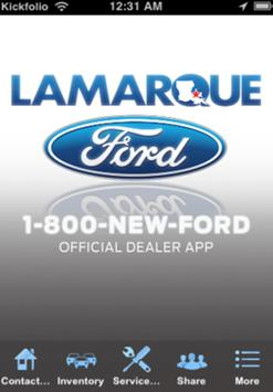 Lamarque Ford poster