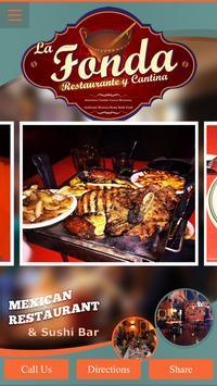 LaFonda Mexican Food & Sushi poster