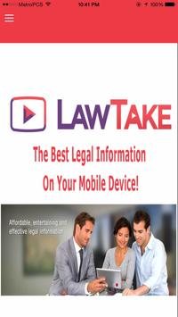 LawTake - Legal Resources poster