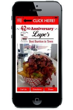 Lupes Burritos apk screenshot