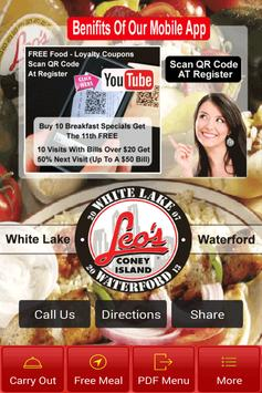 Leos White Lake - Waterford poster