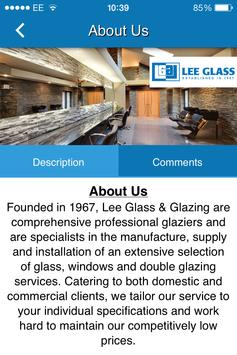 Lee Glass poster