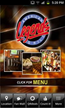Legends American Grill poster