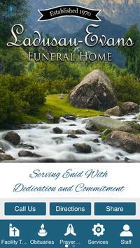 Ladusau Evans Funeral Home poster