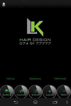 LK Hair Design poster