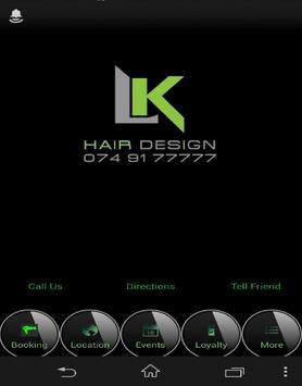 LK Hair Design apk screenshot