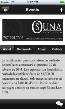 Osuna Law Firm apk screenshot