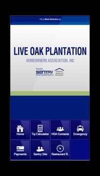 Live Oak Plantation HOA poster