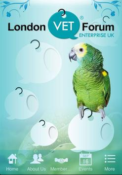 London Vet Forum poster