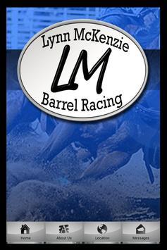 LM Barrel Racing poster