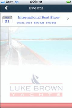 Luke Brown Yachts apk screenshot