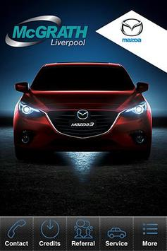 McGrath Mazda Liverpool poster