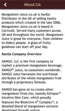 Mangosteen Juice UK apk screenshot