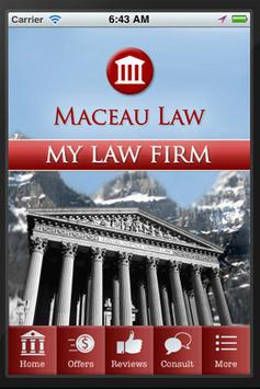 My Law Firm poster