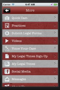 My Law Firm apk screenshot