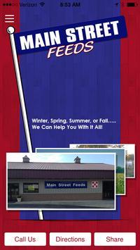 Main Street Feeds poster