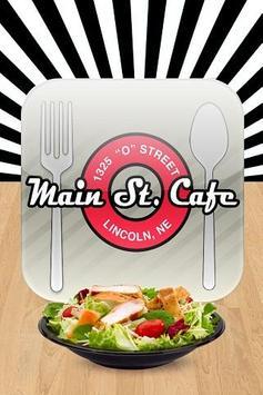 Main Street Cafe Restaurant poster