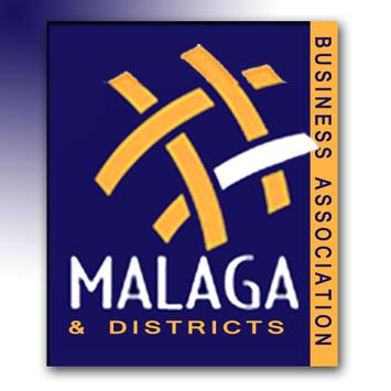 Malaga Business Association poster