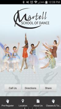 Martell School of Dance poster