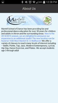 Martell School of Dance apk screenshot
