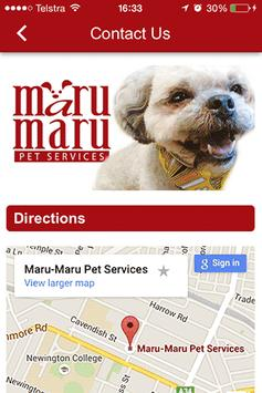 Maru Maru Pet Services apk screenshot