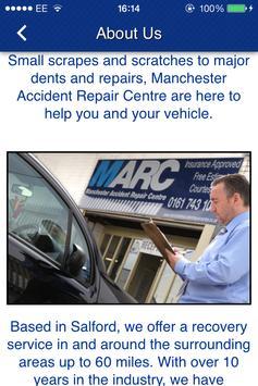 Manchester Accident Repair apk screenshot