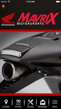 Mavrix Motorsports. poster