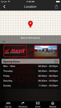 Mavrix Motorsports. apk screenshot