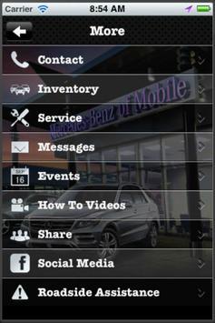 Mercedes Benz of Mobile apk screenshot