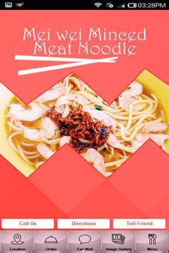 Mei Wei Minced Noodle poster