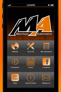 Merchant Automotive poster